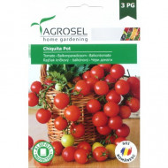 Seminte rosii Chiquita Pot (0.6 g), tip Cherry, inaltime planta 30 cm, Agrosel