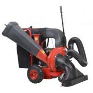 Aspirator/Tocator pentru frunze cu motor pe benzina 196 cm3 / 150 l, Hecht 8574