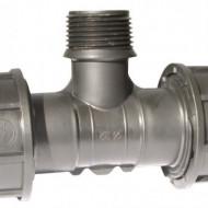 Cot compresie FE 40 X11/4'' irigatii din plastic de calitate superioara, Palaplast