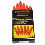 Creta forestiera Nordforest fluorescenta (cutie 12 buc)