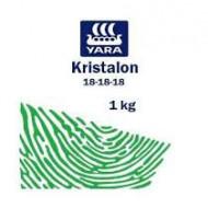 Ingrasamant foliar si radicular Kristalon (NPK 18-18-18) Verde (100 grame), Yara