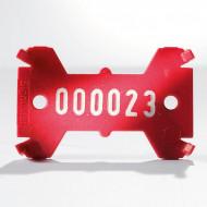 Placute de marcare Signumat Typ 01 RW - WE