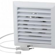 Ventilator cu Jaluzea Manuala si Intrerupator cu Cablu / Cod: 00018; D[mm]: 125; La[mm]: 174; P[W]: 16; Q[mc/h]: 130; H[pa]: 70