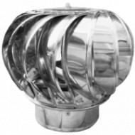 Capac Terminal Cos de Fum Rotativ INOX ESP / D[mm]: 150