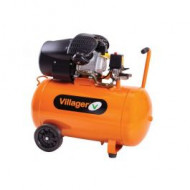 Compresor aer VAT VE 100 D / 100 l / 8 bar / 3 CP, Villager