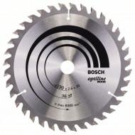 Disc Optiline Wood 190x20 16, 36