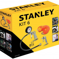 KIT 6 ACCESORII COMPRESOR STANLEY, Stanley