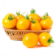 Tomate galbene (0.3 grame) seminte tomate galbene, culoare de la galben la portocaliu, soi timpuriu, Agrosem