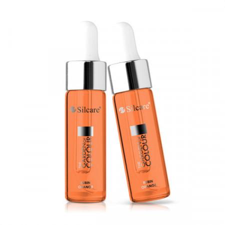 Ulei pentru cuticule Rubin Orange 15 ml