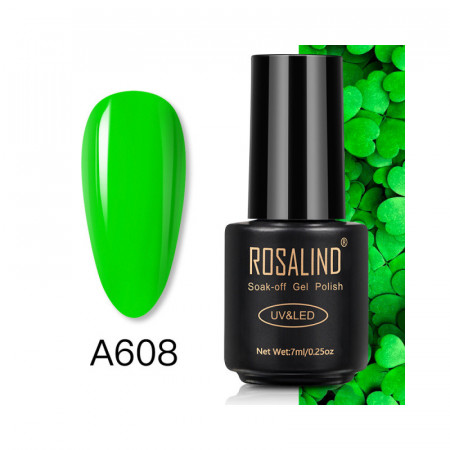 Oja Semipermanenta Rosalind NEON 7ml - A608