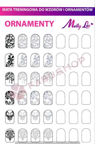 Traning card nail art 12-1