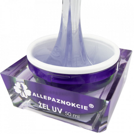 Perfect French Arctic Clear Gel UV 50 ml - Allepaznokcie