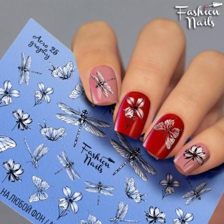 Tatuaje unghii Aero 25