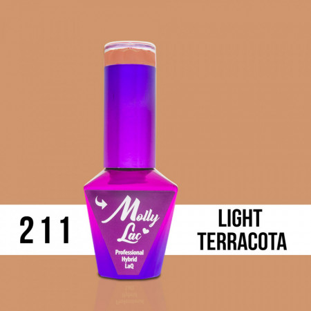 211 Light Terracota Molly Lac 10 ml Oja Semipermanenta