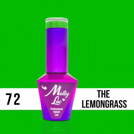 72 The Lemongrass Molly Lac 10 ml Oja Semipermanenta