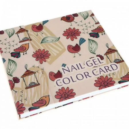 Catalog prezentare culori 120 pozitii - birds