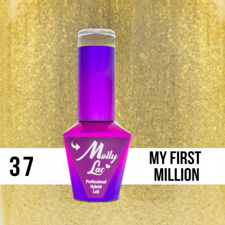 37 My First Million Molly Lac 10 ml Oja Semipermanenta