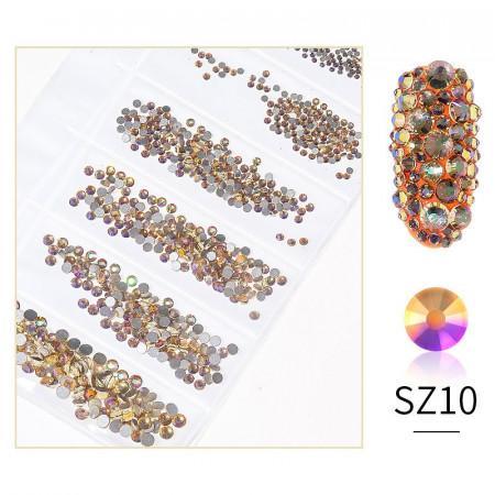 Cristale din sticla 1440 bucati mix marimi SZ10