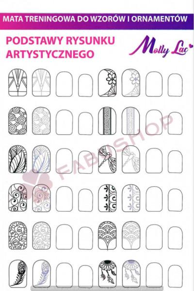 Traning card nail art 12-9