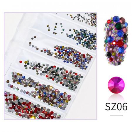 Cristale din sticla 1440 bucati mix marimi SZ06