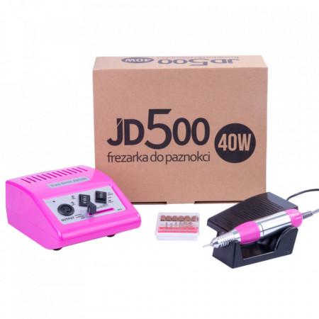 Freza Unghii JD500 40W - 35000 RPM DARK PINK