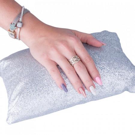 Suport pentru mana - Glitter Silver AB