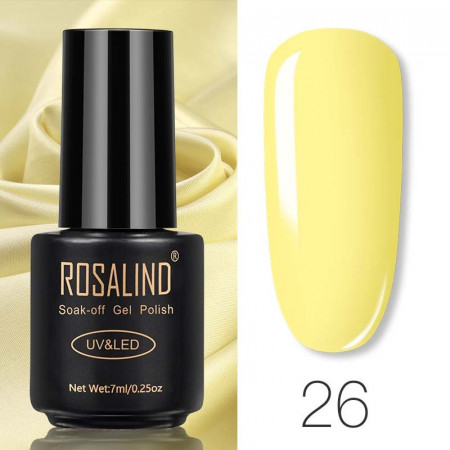Oja Semipermanenta Rosalind 7ml - 26
