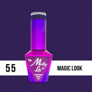 55 Magic Look Molly Lac 10 ml Oja Semipermanenta