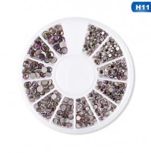 Carusel decor unghii pietricele mix marimi #11