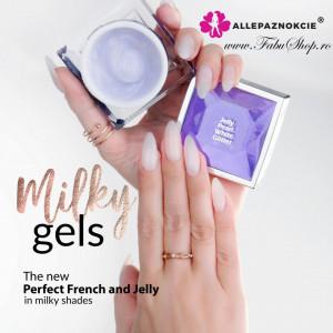 Jelly Manifest White Gel UV 50 ml - Allepaznokcie