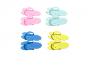 Papuci pentru pedichiura 10 perechi