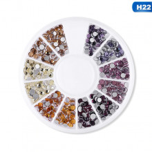 Carusel decor unghii pietricele mix marimi #22