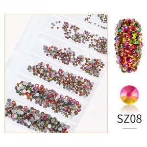 Cristale din sticla 1440 bucati mix marimi SZ08