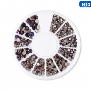 Carusel decor unghii pietricele mix marimi #13