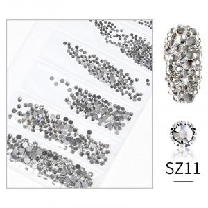 Cristale din sticla 1440 bucati mix marimi SZ11