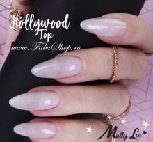 Hollywood Metalic Top No Wipe Molly Lac 10 ml