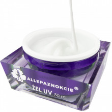 Jelly Total White Gel UV 50 ml - Allepaznokcie