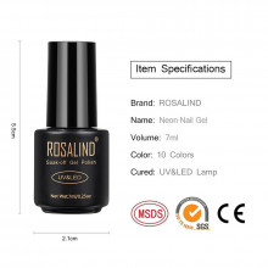 Oja Semipermanenta Rosalind NEON 7ml - A602