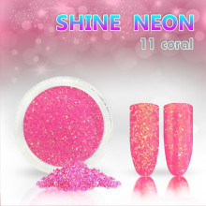 Shine Neon 11 Coral - Sclipici pentru unghii