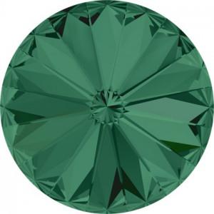 Swarovski Elements Rivoli 1122 - Emerald, 6mm- 1buc