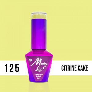 125 Citrine Cake Molly Lac 10 ml Oja Semipermanenta