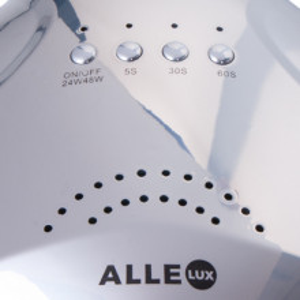Lampa UV LED ALLE LUX 48W Unicorn Silver