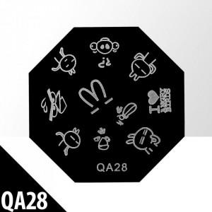 Matrita pentru stampila QA28