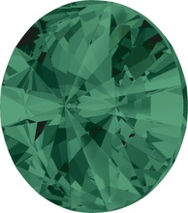 Swarovski Elements Rivoli 1122 - Emerald, 6mm