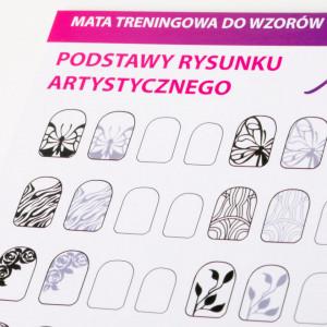 Traning card nail art 12-8