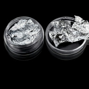 Foita decor argintie