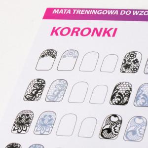 Kit traning card nail art 8+4 GRATIS