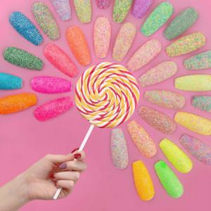 Candy Dream 02 - sclipici sugar effect