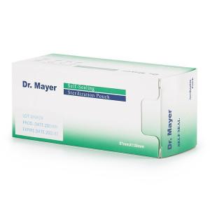 Pungi sterilizare autosigilante Dr. Mayer 57x130mm set 200 (ideale pentru capetele de freza)