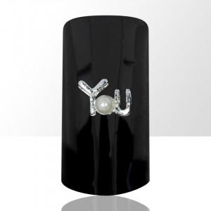 Set 2 bijuterii pentru unghii, nail art D21/1